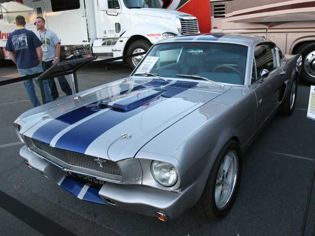 Ford Mustang GT350SR Front Side