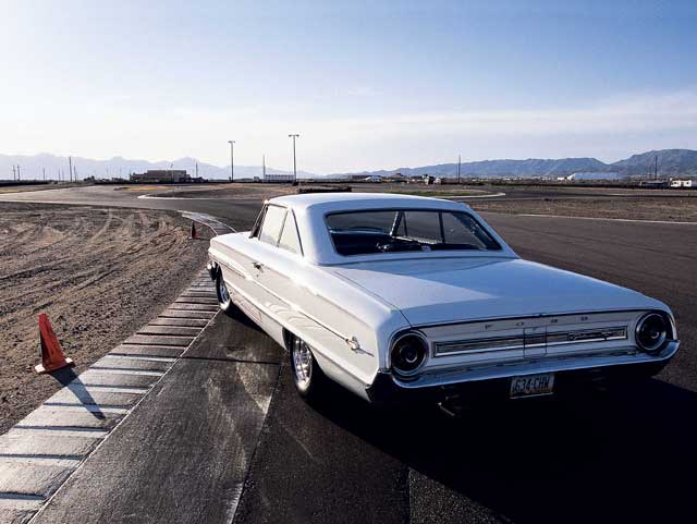 1964 Ford Galaxie 500 Rear End View