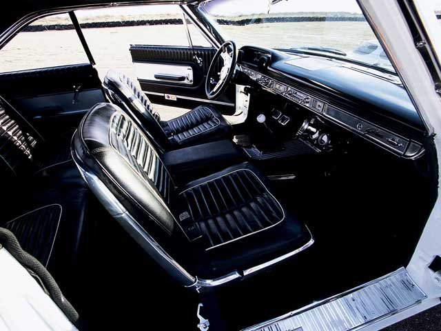 1964 Ford Galaxie 500 Interior View