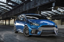 2016 Ford Focus Rs Front Quarter Low View
