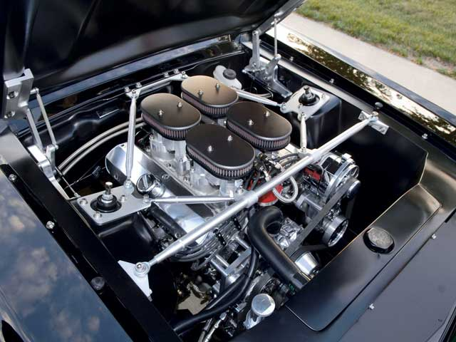 1967 Ford Mustang Fastback Engine Bay