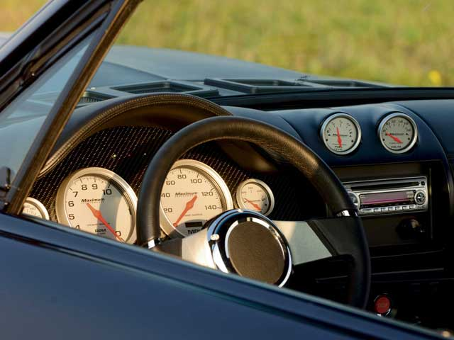 1967 Ford Mustang Fastback Dash