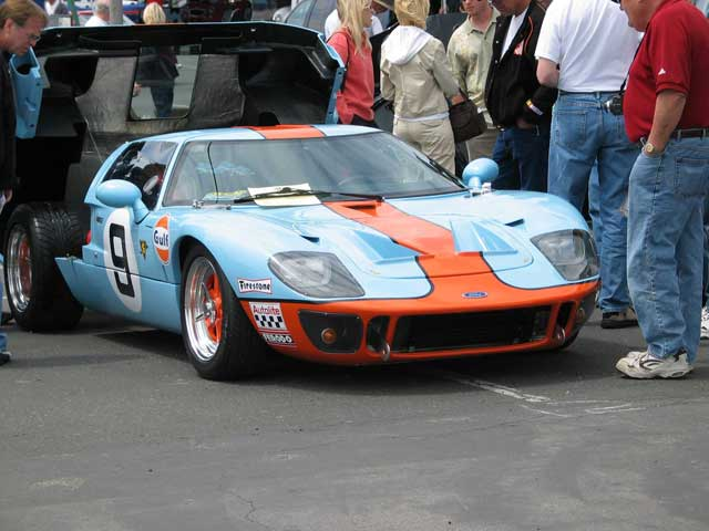 Ford GT40 Replica Front Side