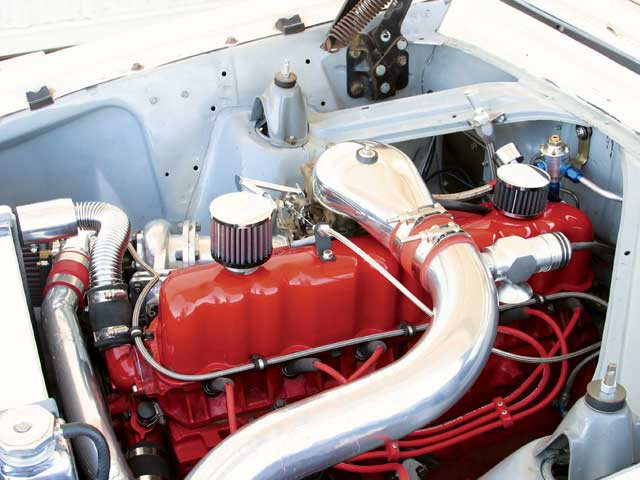 1963 Ford Futura Turbo Engine Driver Side