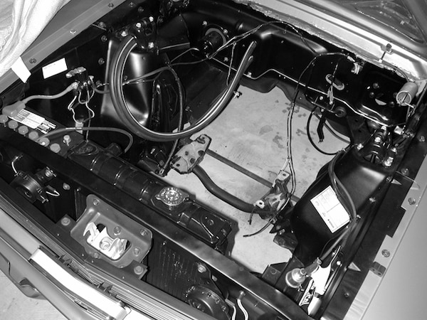 [TVPR_3874]  1966 Ford Mustang - Project '66 - Engine Compartment Detailing Photo &  Image Gallery | 1966 Mustang Engine Wiring |  | Mustang 360