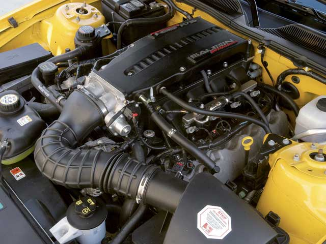 Mump 060600 Sal 03 Z 2006 Saleen S281 Mustang Engine