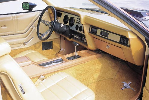 1974 Ford Mustang II Passenger Side Interior