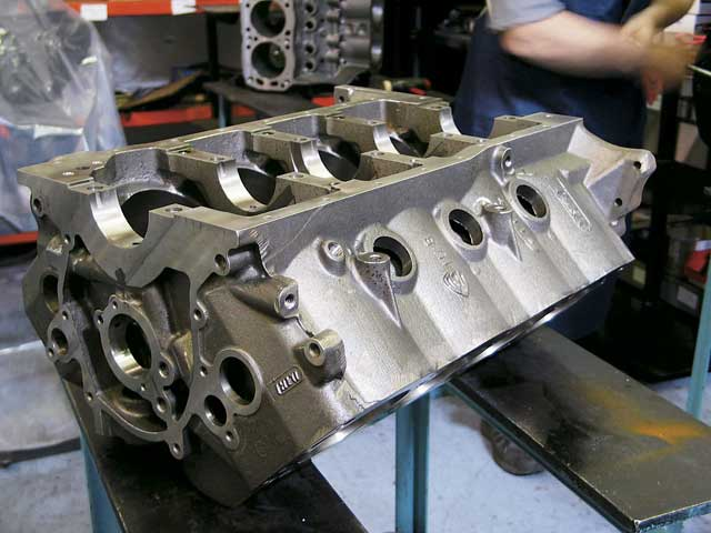 Factory Five Roadster Engine Build Dart Machinery Block