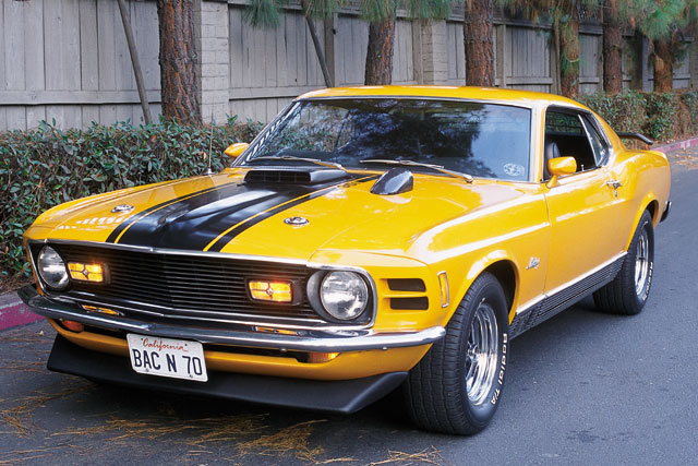 1970 Ford Mustang Mach 1 Front End