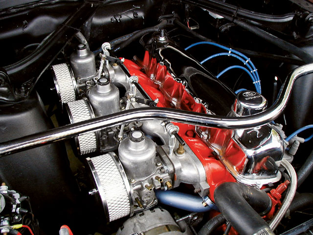 Six Cylinder Performance Engine View