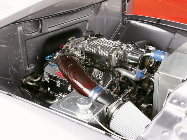 1955 Ford F100 Engine View