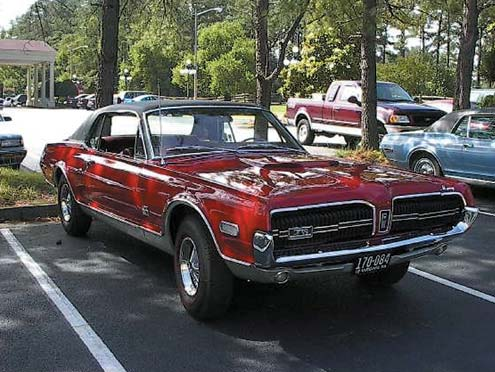 1968 Mercury Cougar GTE Front End View
