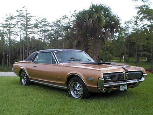 1968 Mercury Cougar XR7 GT Passenger Side View