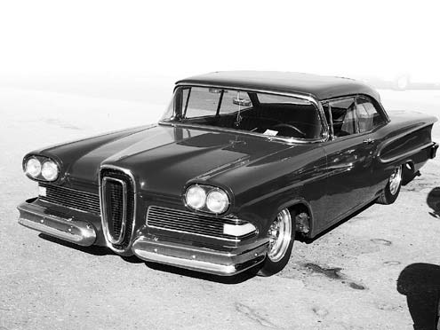 Edsel Coupe Front Driver Side View