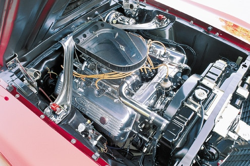1969 Ford Mustang Boss 429 Engine Bay View