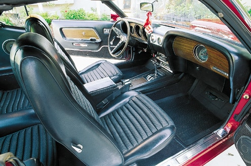 1969 Ford Mustang Boss 429 Interior View
