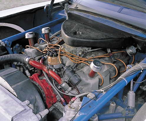 Nascar Ford Mustang Engine