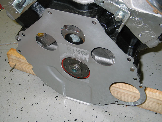 Factory Five Roadster Engine And Tranmission Block Plate