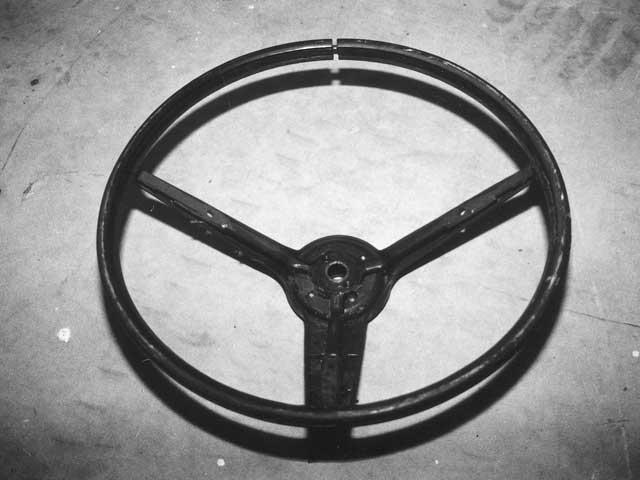 Mump 9908 Rim 02 Z Classic Mustang Steering Wheel Restoration Bare Wheel