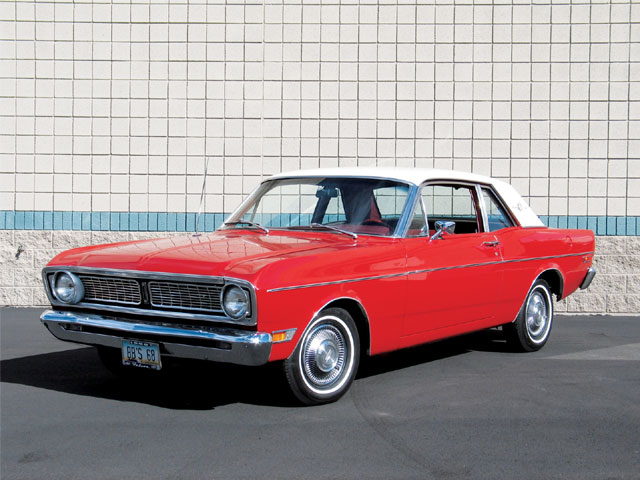 1968 Ford Falcon Front View