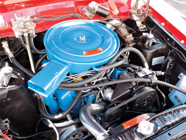1968 Ford Falcon Engine