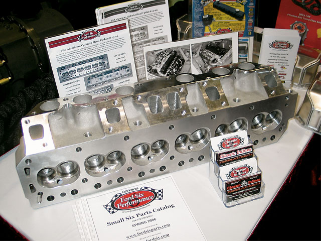 Performance Racing Industry Show Cylinder Head