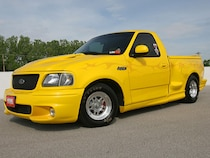 Yellow 2000 Ford Lightning - Muscle Mustangs & Fast Fords
