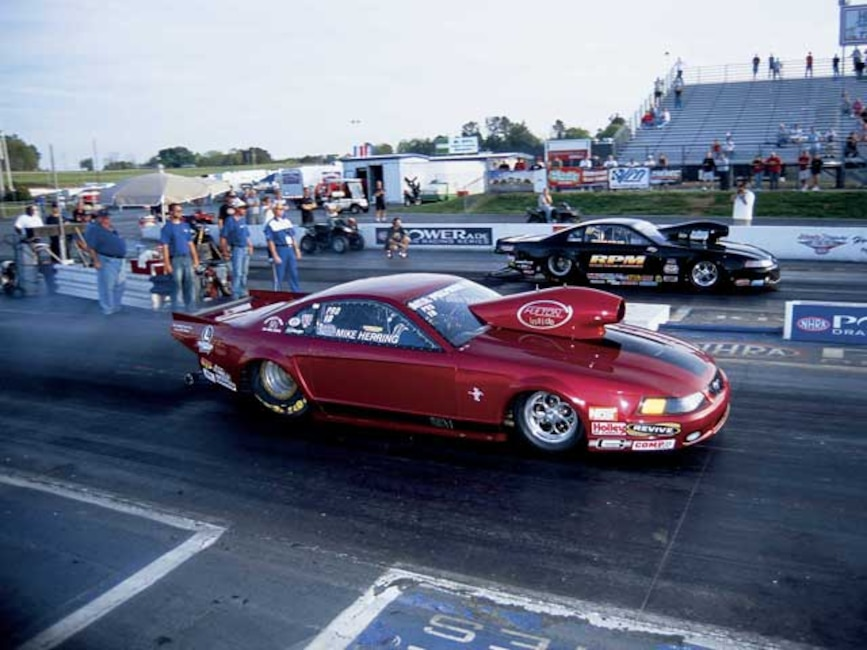 Mmfp_0509_01z Mike_Herring_Dragster On_The_Strip