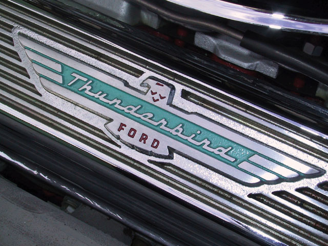 1957 Ford Thunderbird And Country Sedan Wagon Thunderbird Valve Cover