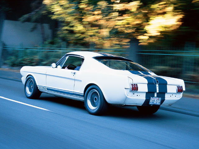 1965 Ford Mustang Shelby R Rear