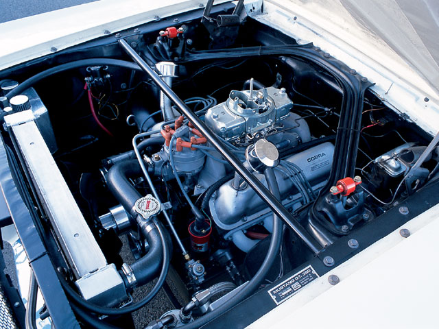 1965 Ford Mustang Shelby R Engine