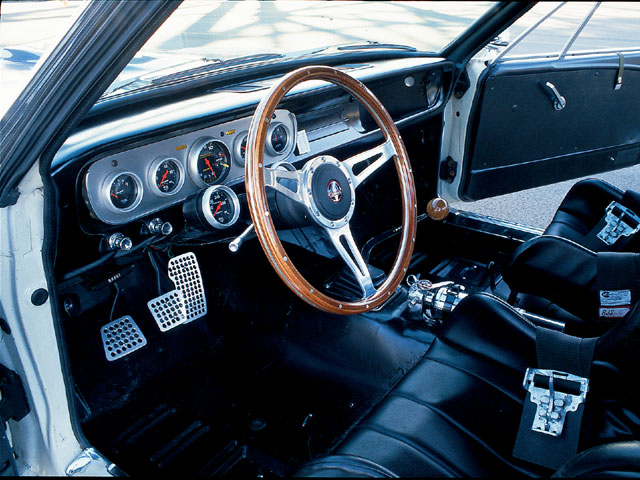 1965 Ford Mustang Shelby R Dash