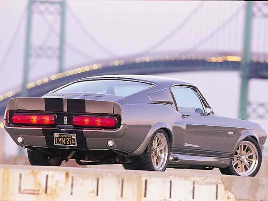 173_0011_4z 1967_Ford_Mustang_GT500 Rear_Driver_Side
