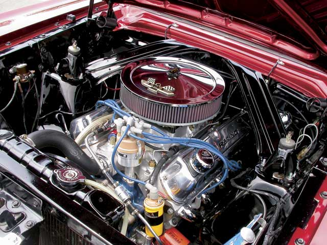 1964 Ford Falcon Sprint Engine Bay