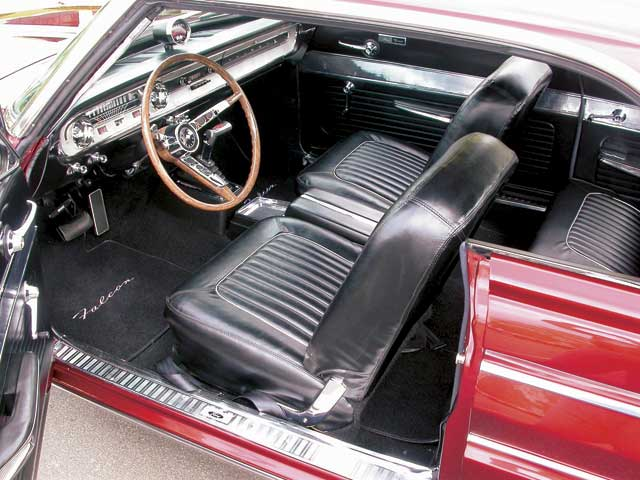 1964 Ford Falcon Sprint Driver Side Interior