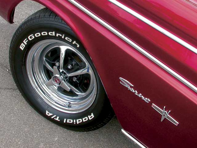 1964 Ford Falcon Sprint Fender Emblem
