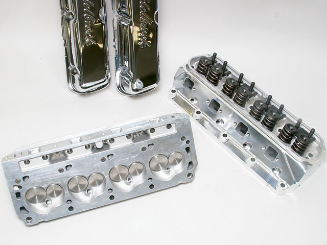 Ford 427 Windsor And 428 FE Engine Build Edelbrock Cylinder Heads