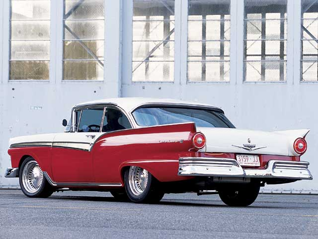 1957 Ford Fairline Rear Driver Side