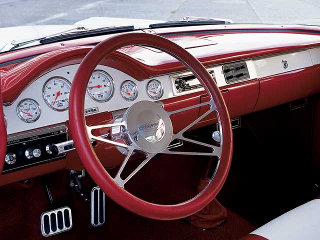 1957 Ford Fairline Steering Wheel