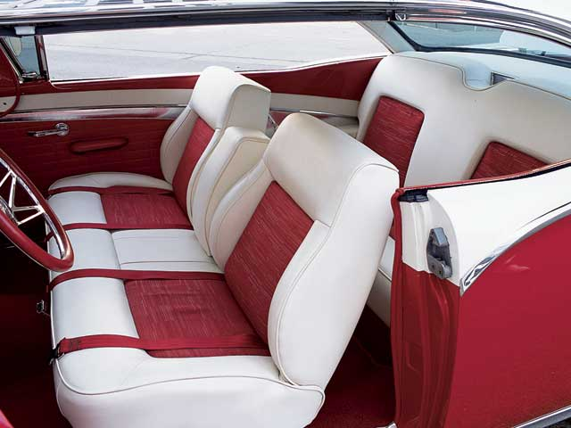 1957 Ford Fairline Interior Seats