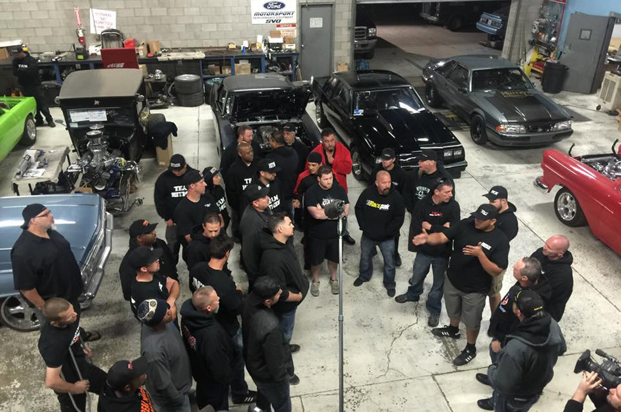 West Coast Street Outlaws Preparing To Film Race