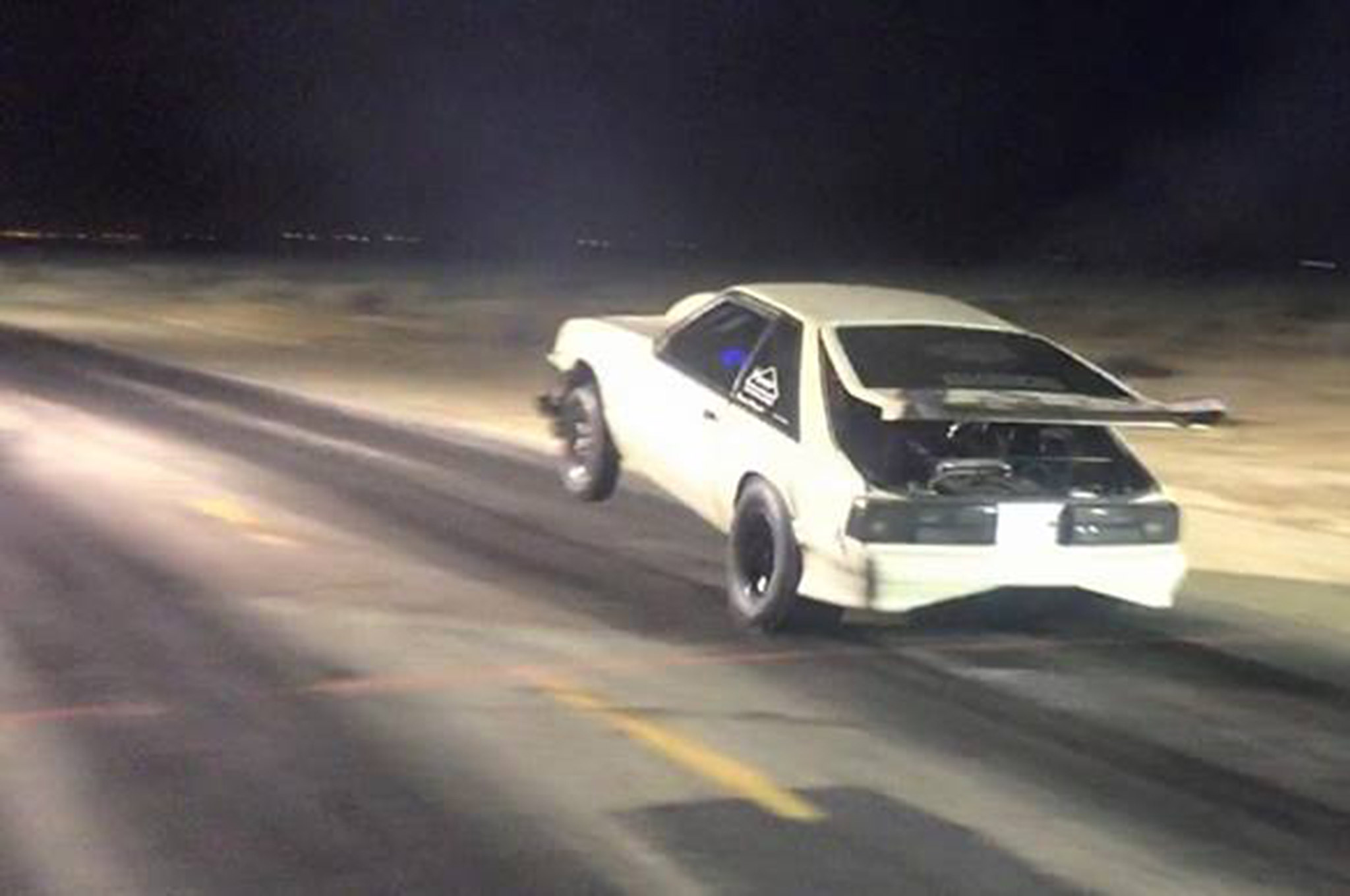 West Coast Street Outlaws Preparing To Film Race Wheelie