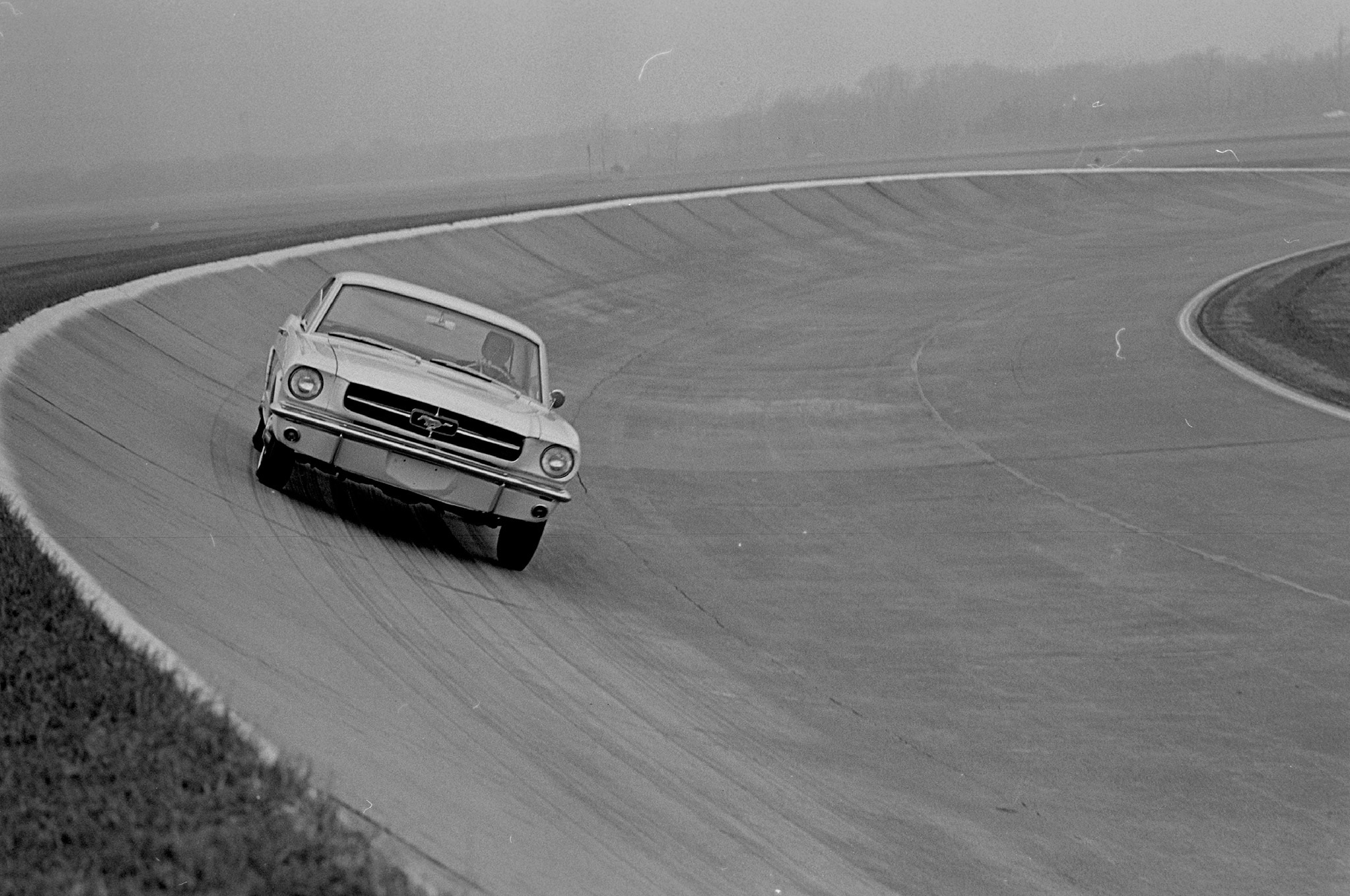 May 1964 Motor Trend Mustang Road Test Round The Corner