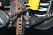 NPD Rack Install Fox Mustang Pins Nuts