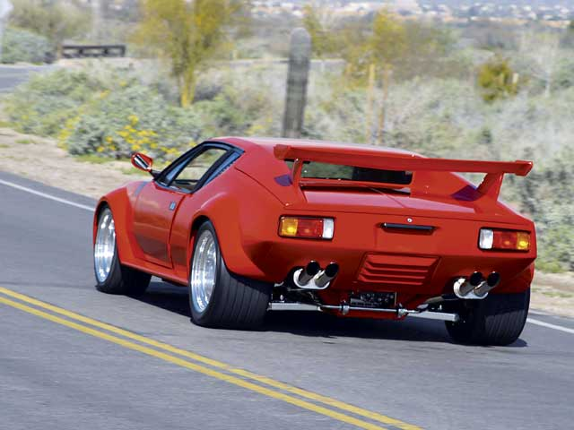 1972 De Tomaso Pantera Group V Rear End