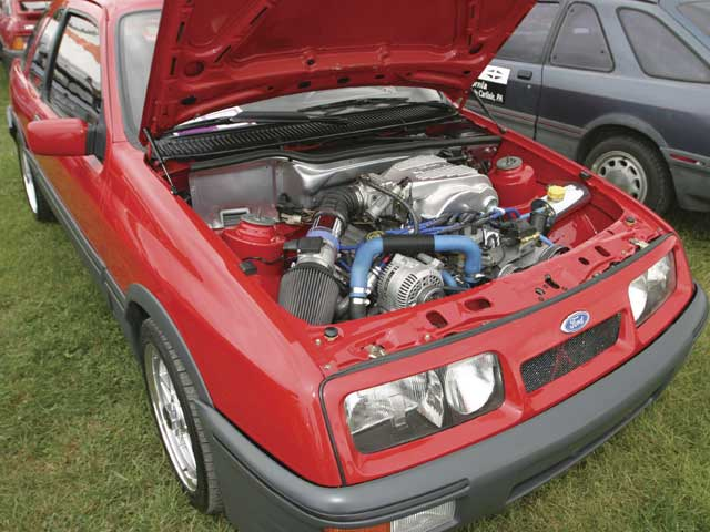 Merkur XR4TI Underhood Engine