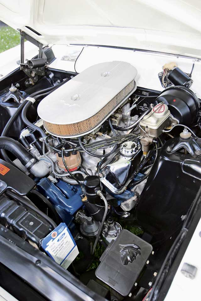 1967 Mercury Comet Engine Bay