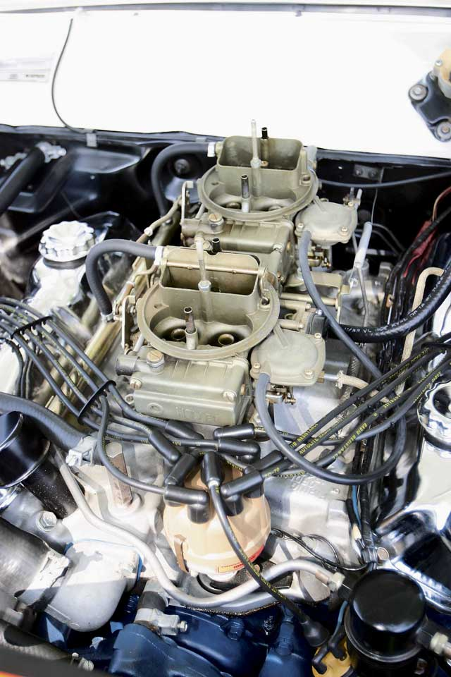 1967 Mercury Comet Engine Carburetors