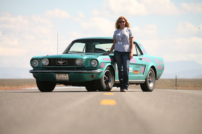 1965 Ford Mustang Courtney Barber