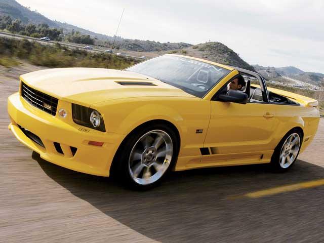 Mump 060600 Sal 01 Z 2006 Saleen S281 Mustang Side View